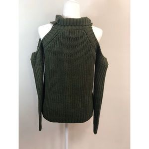 NWT Wildflower | Shoulderless Knit Sweater